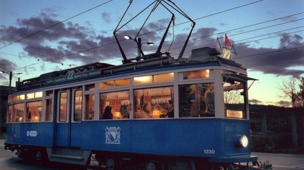 The Fondue Tram on Zurich