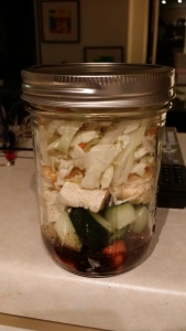 asian mason jar salad